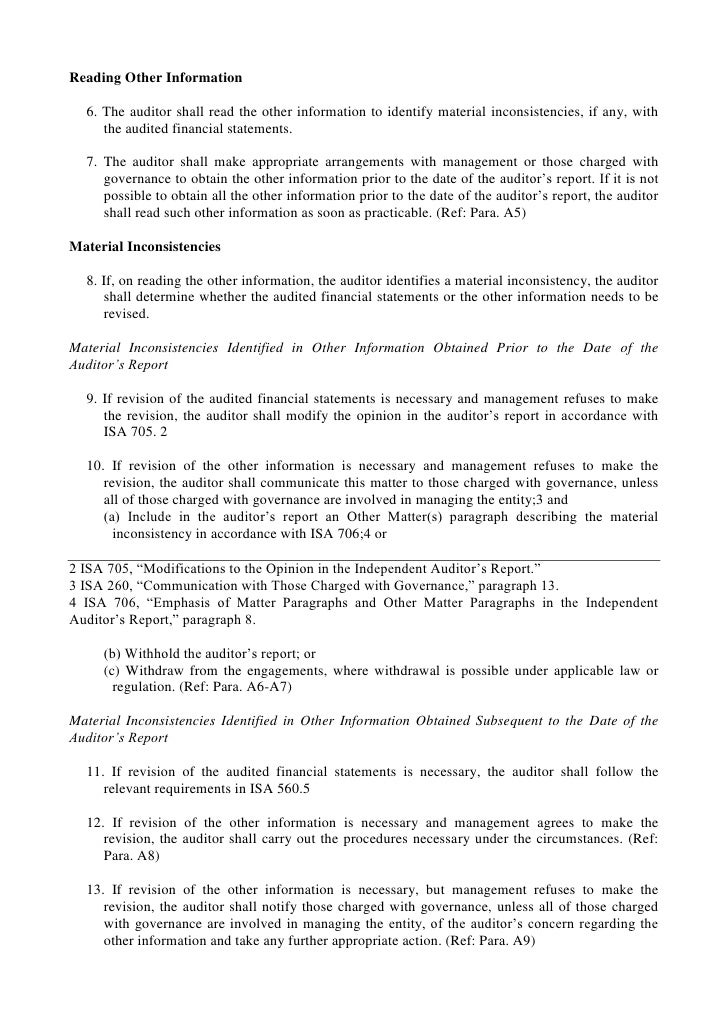 C:\Fakepath\Isa 720 The Auditor'S Responsibilities Relating To Other Information In Documents Containing Audited Financial Statements En Ingles Slide 3