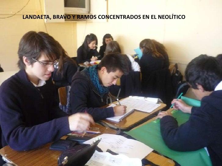 LANDAETA, BRAVO Y RAMOS CONCENTRADOS EN EL NEOLÍTICO<br />