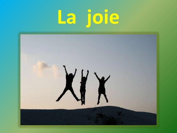 La  joie<br />