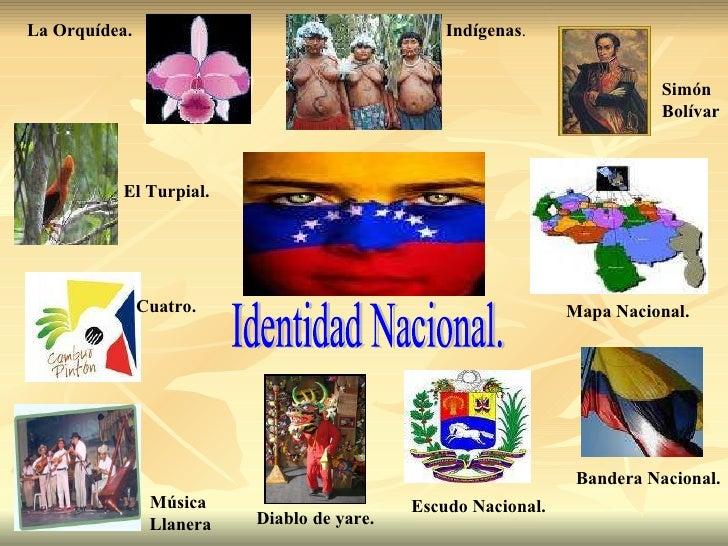 Mapa Mental Sobre La Identidad Nacional Venezolana | identidad nacional