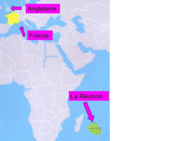 Angleterre France La Réunion