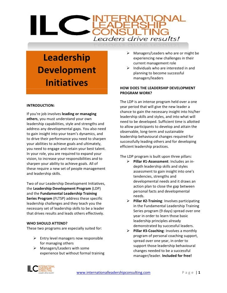 Managers/Leaders who are or might be        Leadership                                            experiencing new chall...