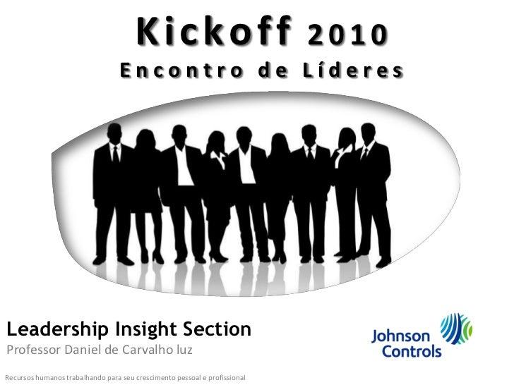 K Inteligência2Corporativa                  Projeto                          ickoff 010                                   ...