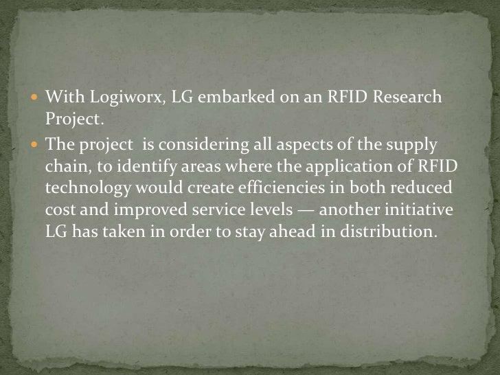 Lg supply chain study