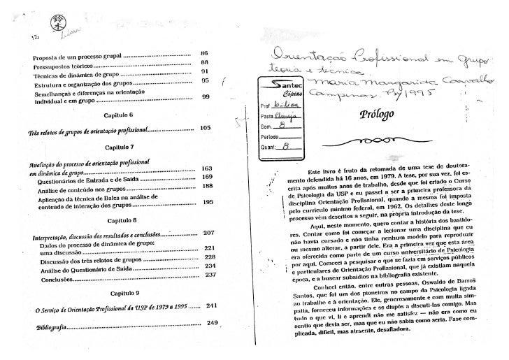Orientação Profissional em Grupo: teoria e técnica - M. Margarida Carvalho