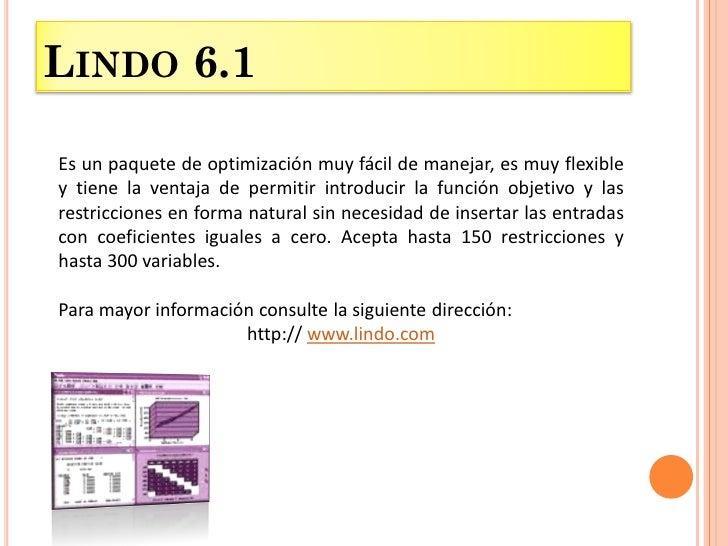 lindo 6.1