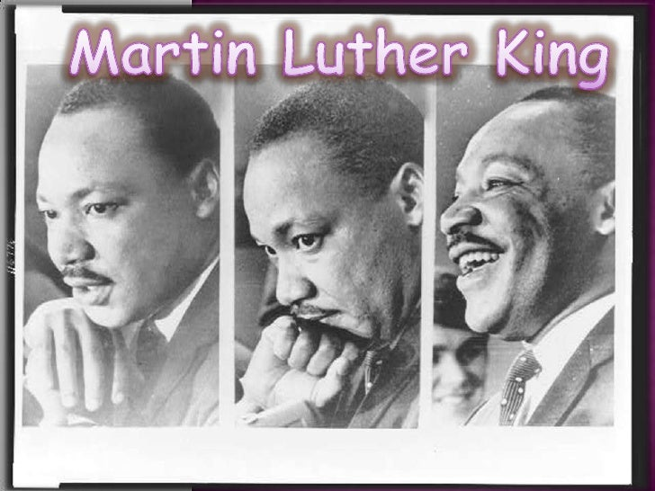 Martin Luther King<br />
