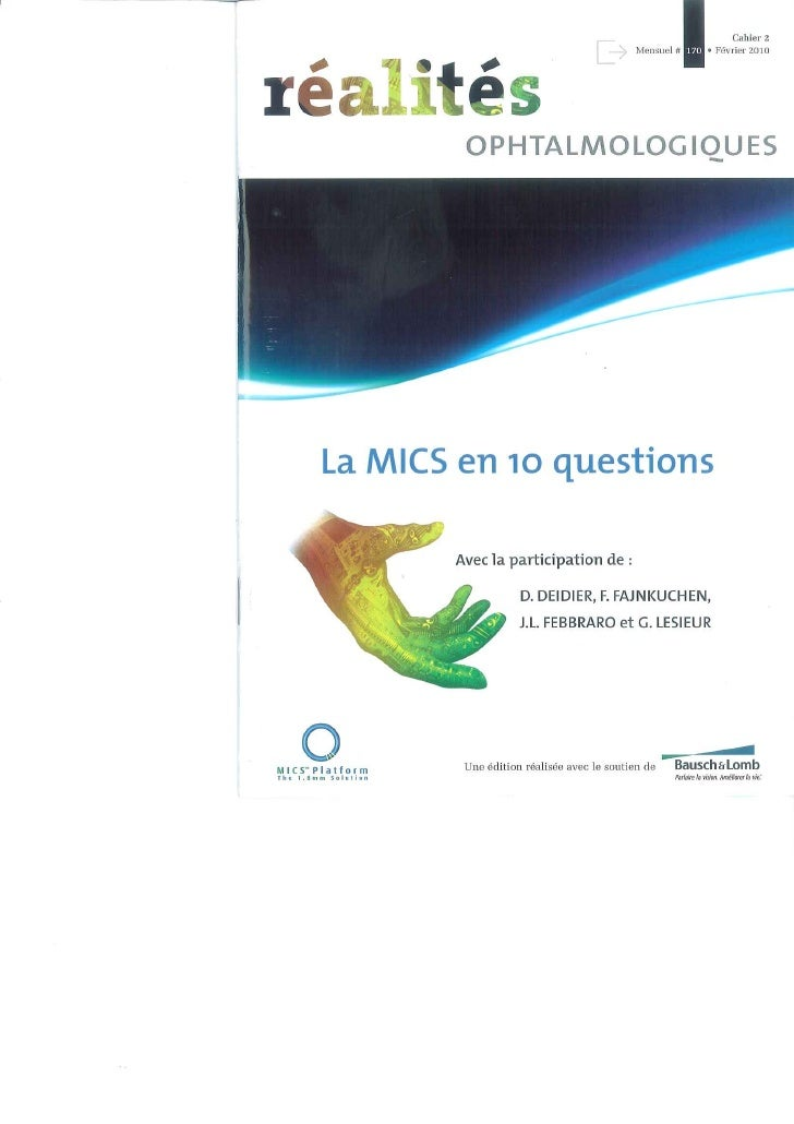 La MICS en 10 questions