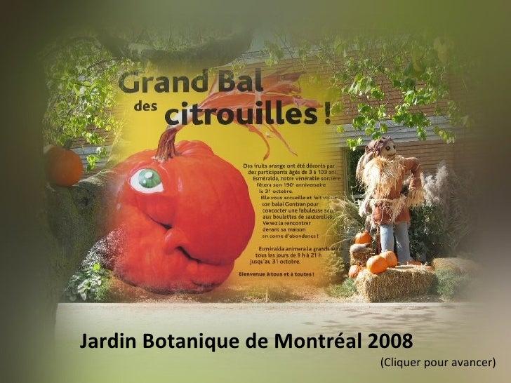 Jardin Botanique de Montréal 2008  (Cliquer pour avancer)