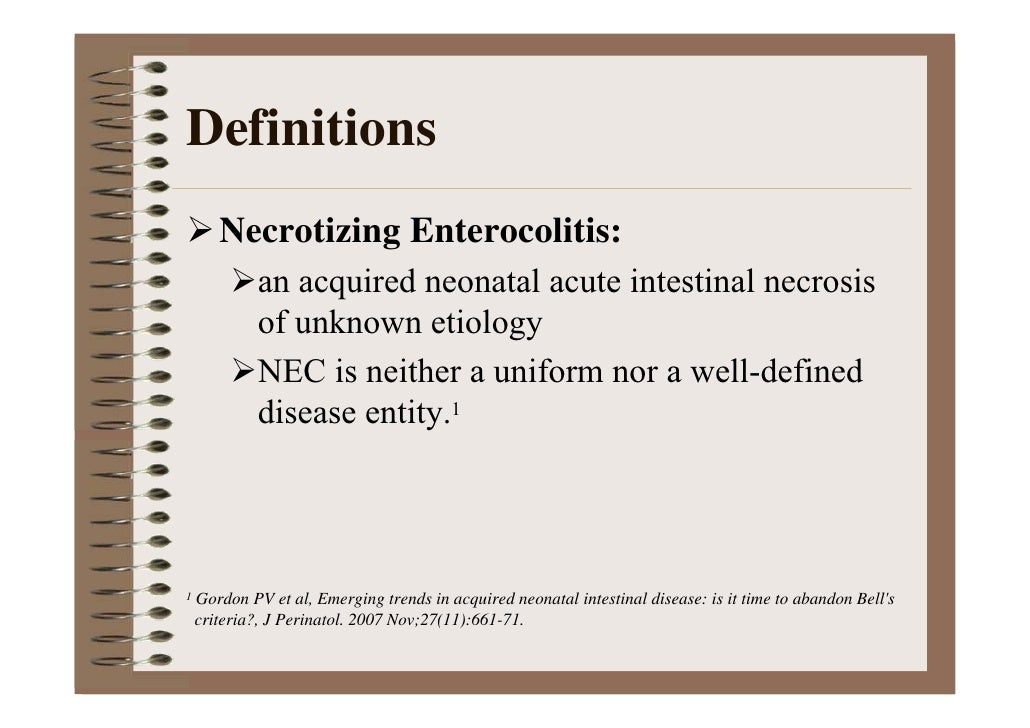 Necrotizing Enterocolitis