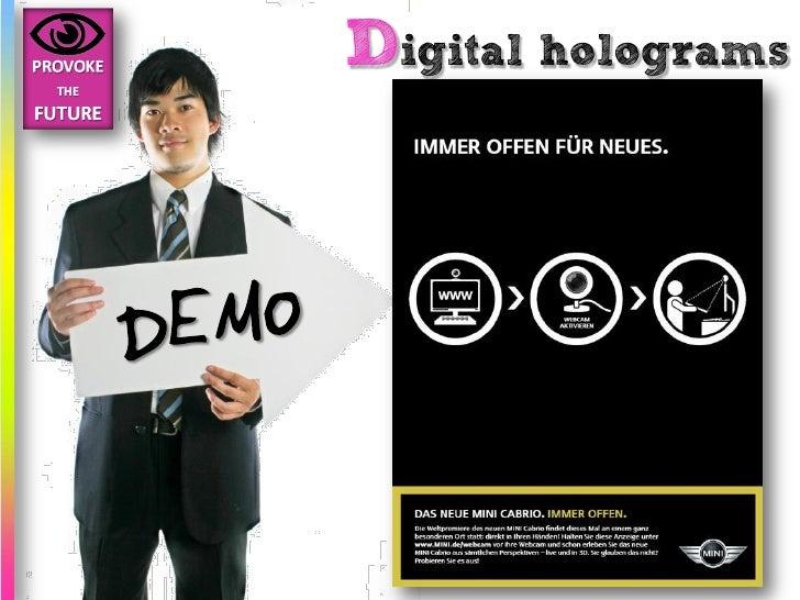 Digital holograms