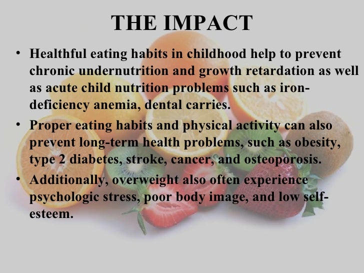 The Effects of a Healthy Lifestyle