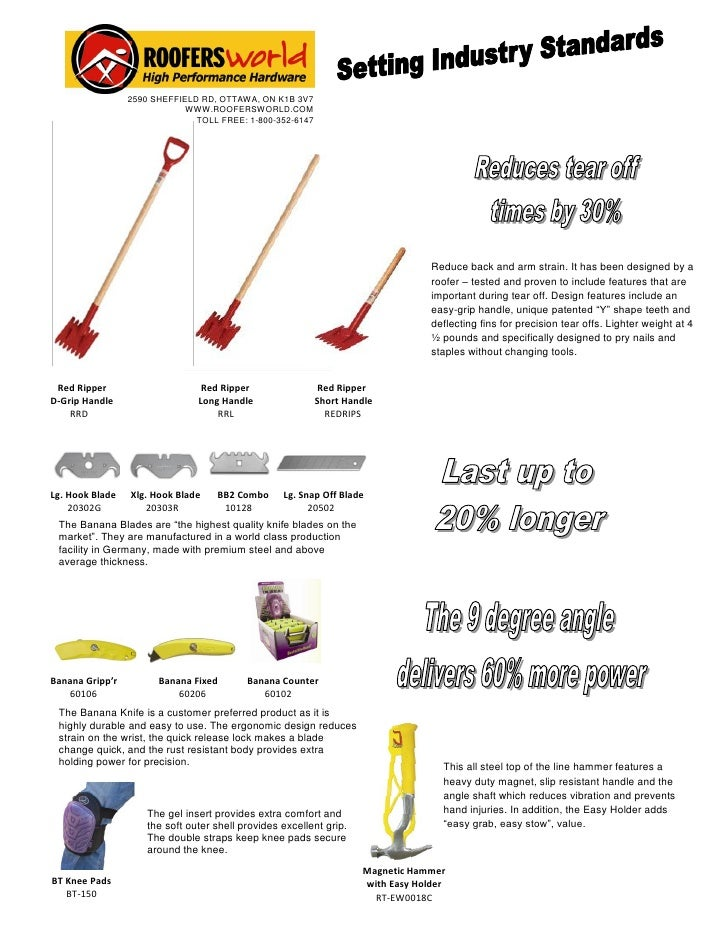Roofing Tools In Usa