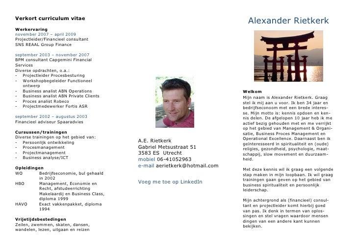 Persoonlijke folder A.E.Rietkerk