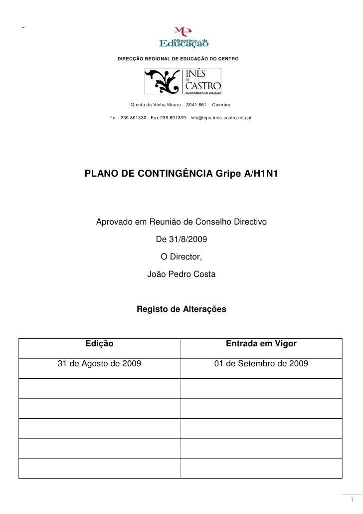 -                       DIRECÇÃO REGIONAL DE EDUCAÇÃO DO CENTRO                              Quinta da Vinha Moura – 3041 ...