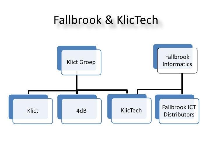 Fallbrook & KlicTech<br />