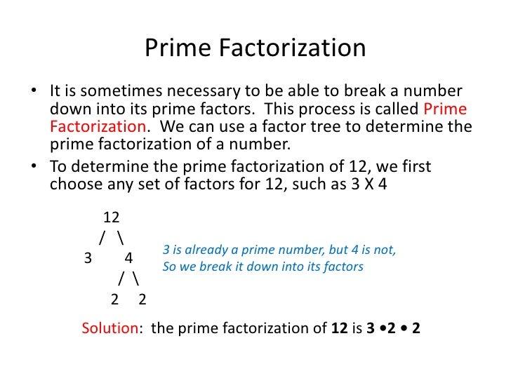 Prime Factorization & Fractions