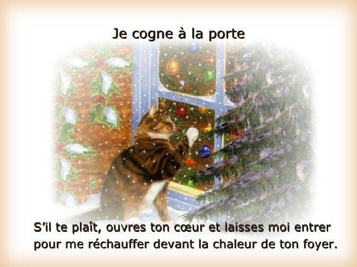 Prière de Noel d'un chat Slide 3