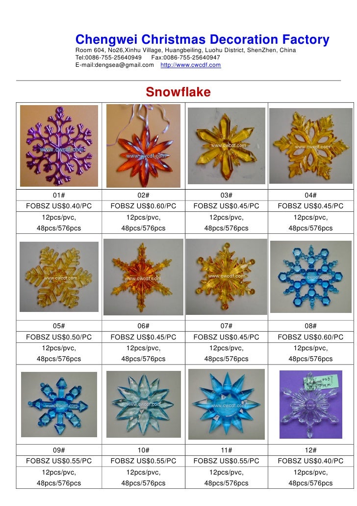 Chengwei Christmas Decoration Factory             Room 604, No26,Xinhu Village, Huangbeiling, Luohu District, ShenZhen, Ch...