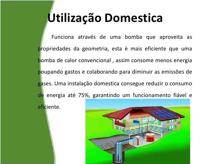 Produ o de energia el ctrica - Energia geotermica domestica ...