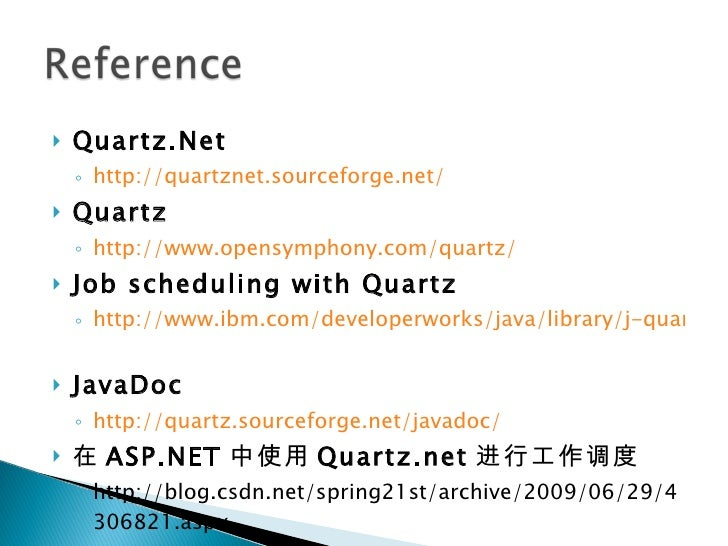 Quartz NET - Enterprise Job Scheduler for  NET Platform