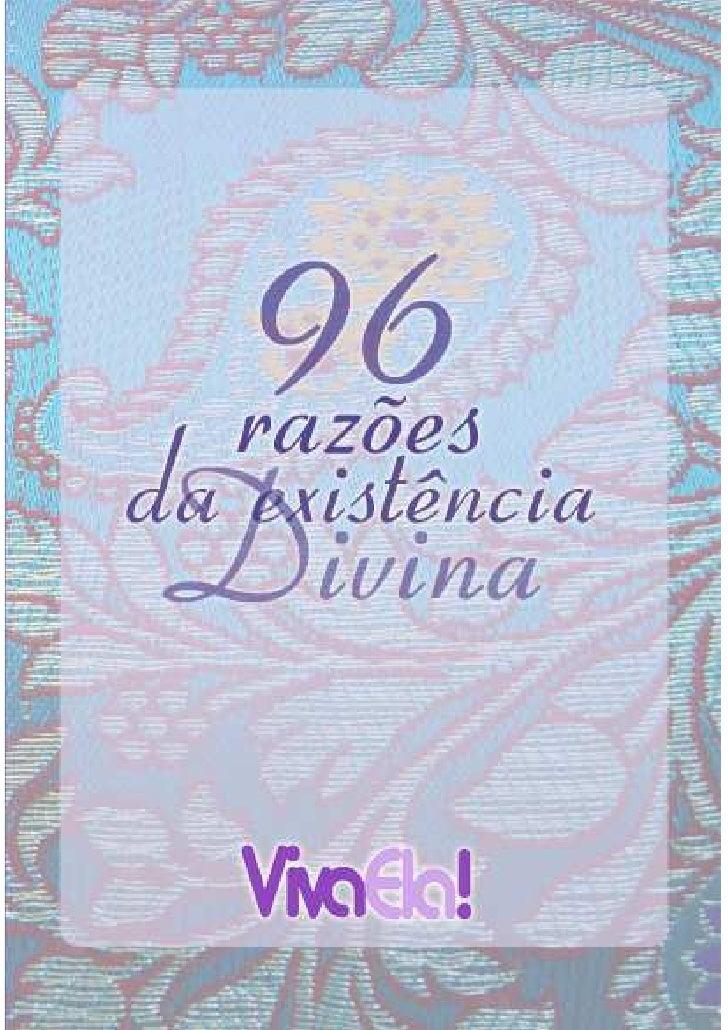 96 razões da existência Divina