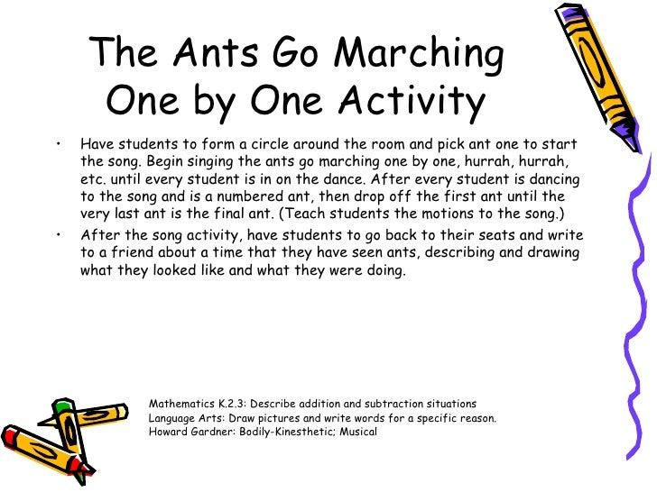 Howard Gardner Interpersonal 8 The Ants Go Marching