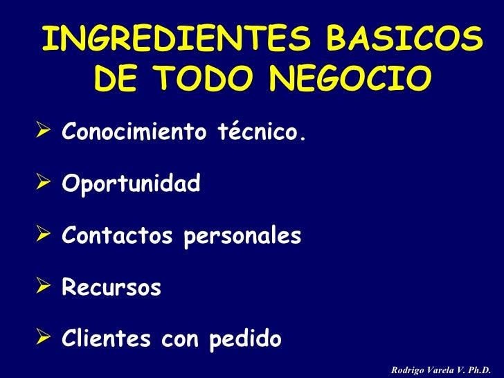 <ul><li>Conocimiento técnico. </li></ul><ul><li>Oportunidad </li></ul><ul><li>Contactos personales </li></ul><ul><li>Recur...