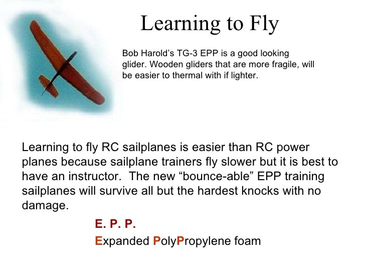 Radio Control Sailplanes Introduction