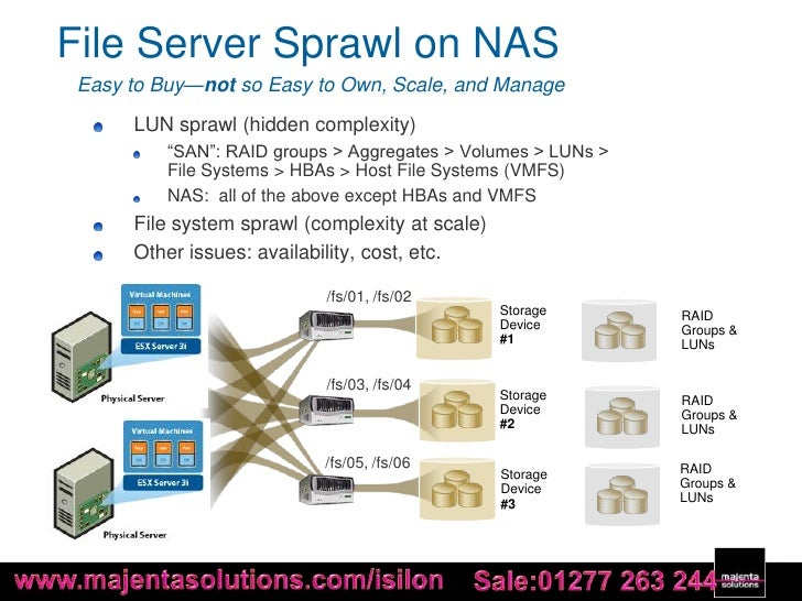 Scale out NAS for VMware Virtualization by Isilon