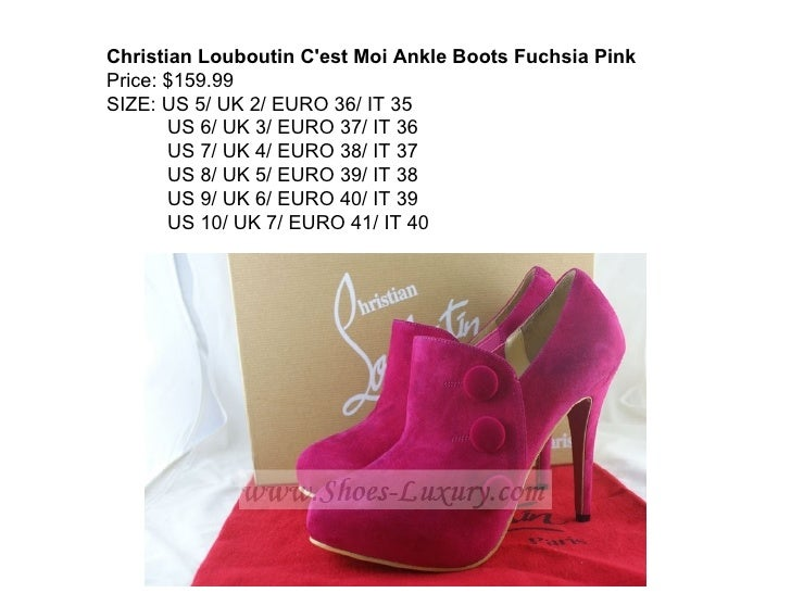christian louboutin size 37 in us