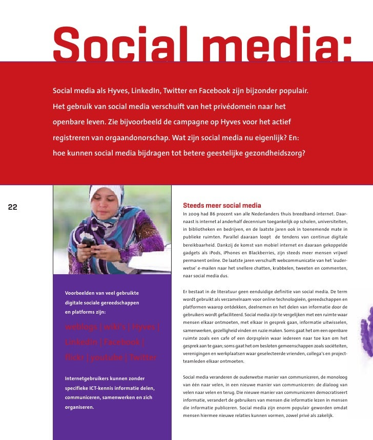 Social Media in de Zorg - Artikel in magazine InterView