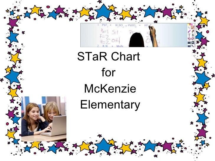 STaR Chart  for  McKenzie Elementary