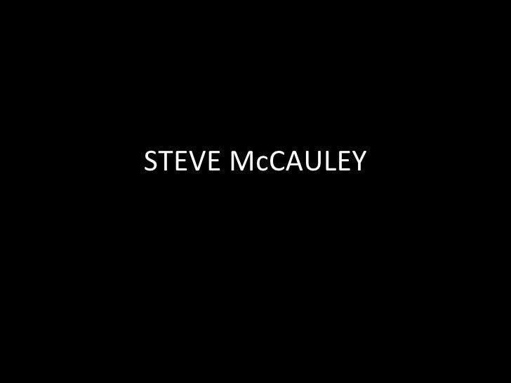 STEVE McCAULEY