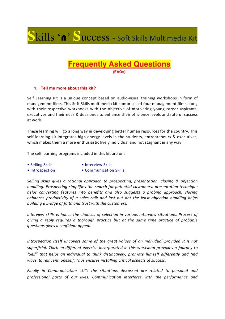 Resume Resume Format Soft Skills Trainer Soft Skills Trainer Sample Resume  Personal Multimedia Kit Faqs