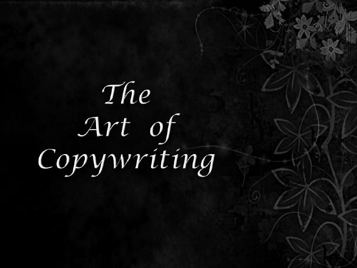 TheArt  ofCopywriting<br />