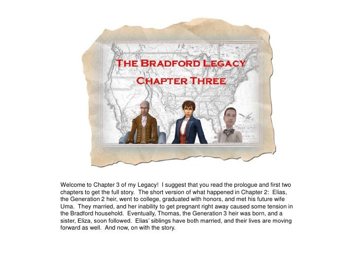 Welcome to Chapter 3 of my Legacy! I suggest that you read the prologue and first two chapters to get the full story. The ...