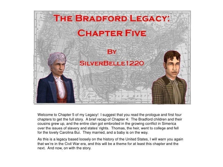 Welcome to Chapter 5 of my Legacy! I suggest that you read the prologue and first four chapters to get the full story. A b...