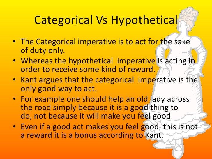 Kant - Explain Categorical Imperative