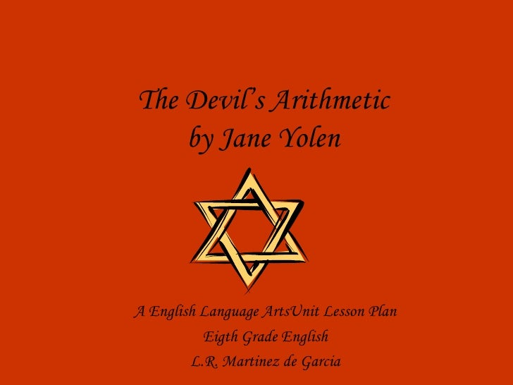 the holocaust the devils arithmetic essay Book review and analysis - the devil's arithmetic by jane yolen.