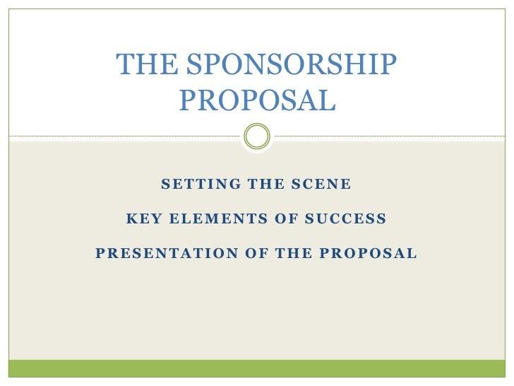 sports team sponsorship proposal template - the sponsorship proposal