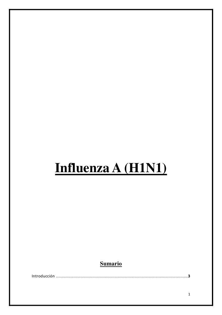 Influenza A (H1N1)<br />Sumario<br />Introducción 3<br />La Gripe Porcina en Honduras4<br />La Gripe Porcina en Mexico5<br...