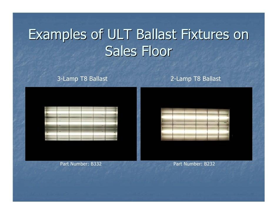 Ult Kohl's Ballast Guide on