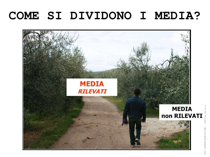 Quello che avreste voluto sapere sulle ricerche sui media e non avete mai osato chiedere (seminario per Università di Padova Slide 3