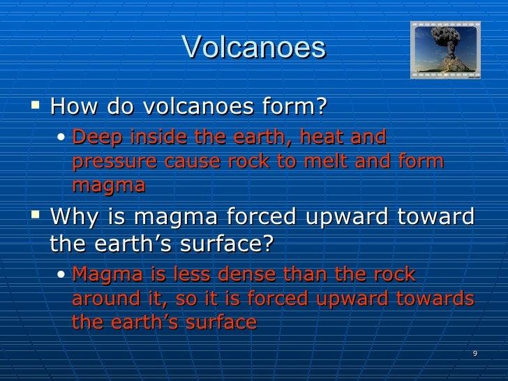 Volcano Notes