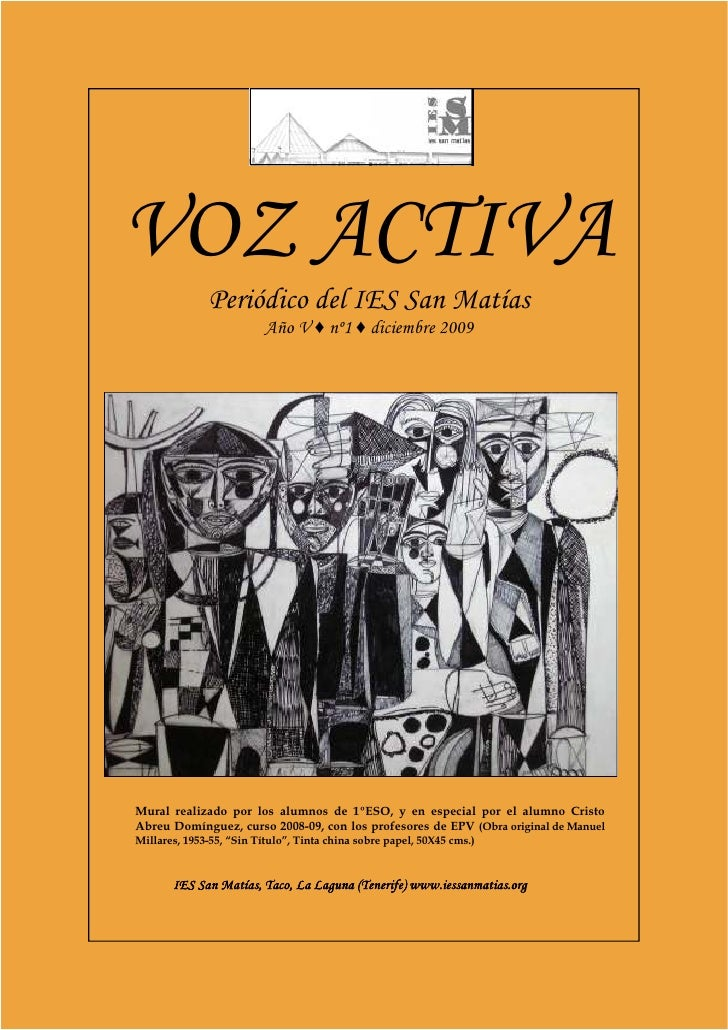 Voz Activa, año V, nº 1.