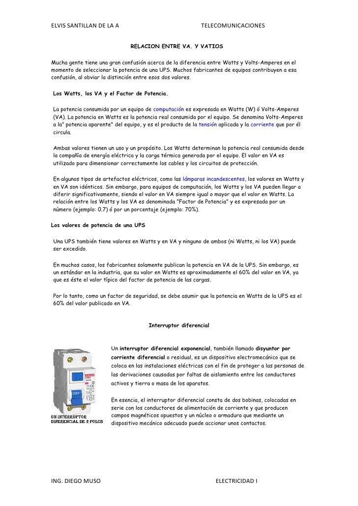 ELVIS SANTILLAN DE LA A                                     TELECOMUNICACIONES                                  RELACION E...