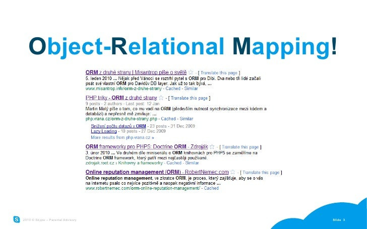 Why not ORM Slide 3