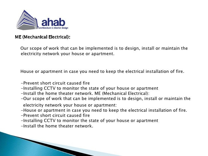 AHAB Architecture And Interior Design