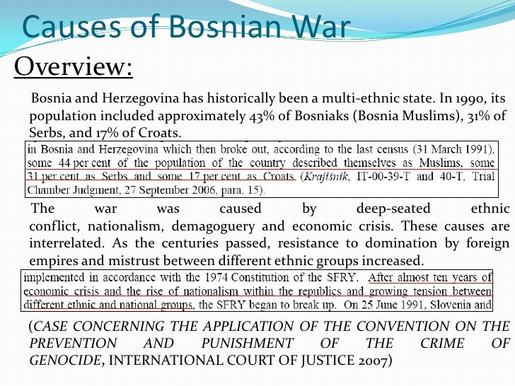 an overview of the infamous bosnia herzegovina genocide between 1992 and 1995 This is one of the best books on the history of bosnia and herzegovina i came why there's such calamity between serbs and a short history of bosnia.